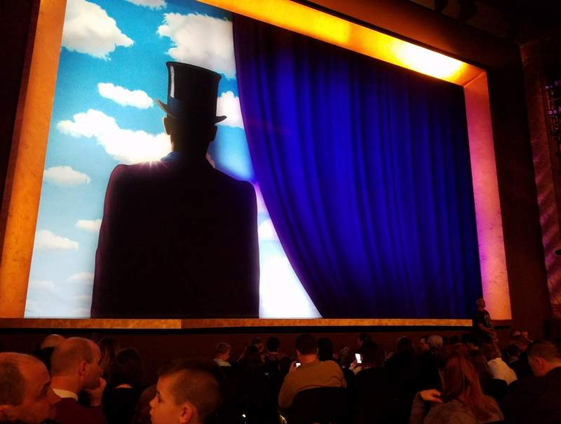 Lunt-Fontanne Theatre, section: 1, row: K, seat: 3