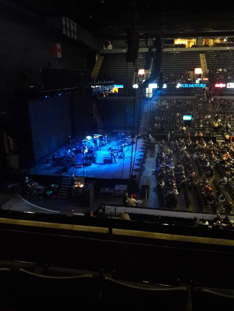 Van Andel Arena, section: 209, row: C, seat: 12