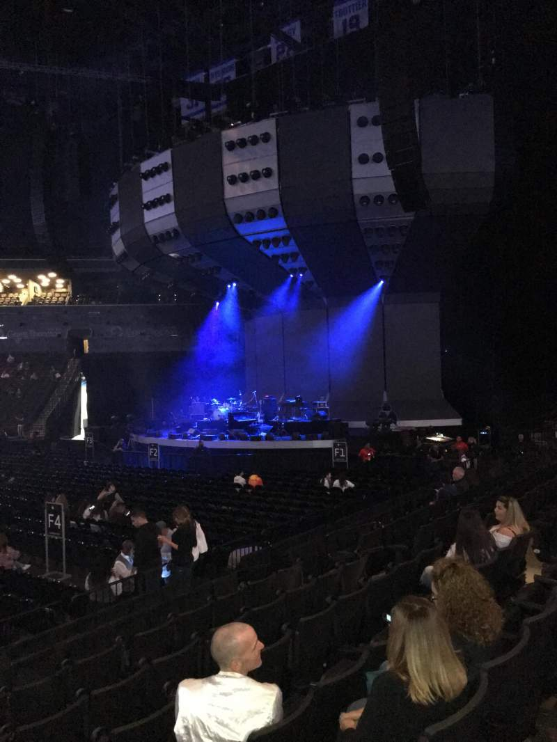 Barclays Center, section: 8, row: 9, seat: 13