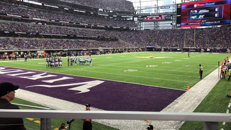 Seating view for U.S. Bank Stadium Section 116 Row 6 Seat 10