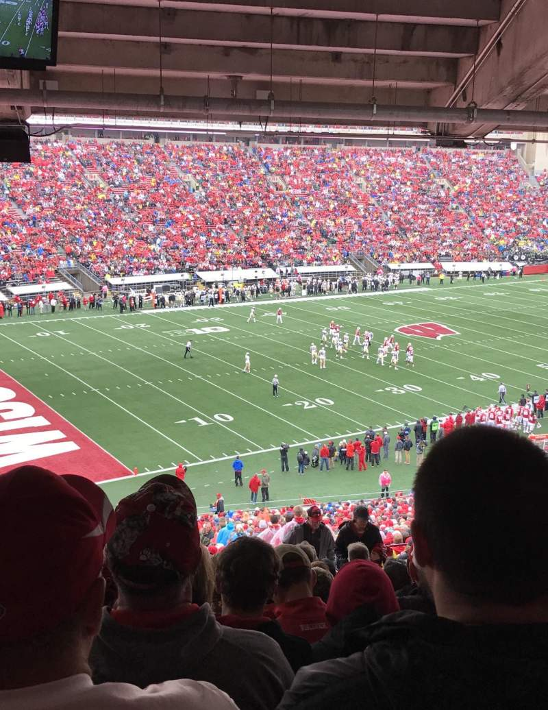Camp Randall Stadium, section: I, row: 69, seat: 10 and 11