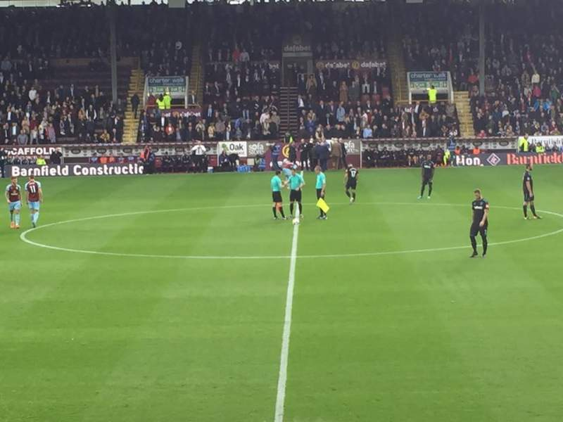 Seating view for Turf Moor Section James Hargreaves lower Row s Seat 115