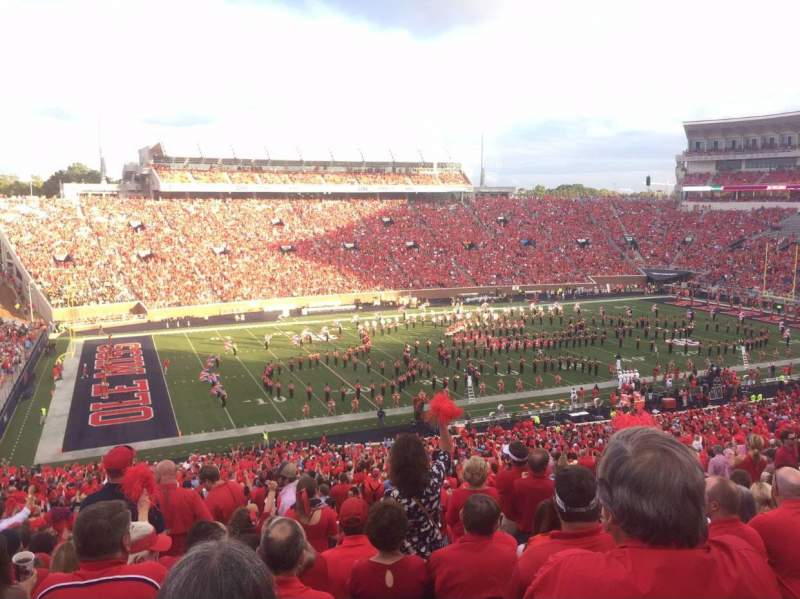 Seating view for Vaught-Hemingway Stadium Section H Row 65 Seat 16