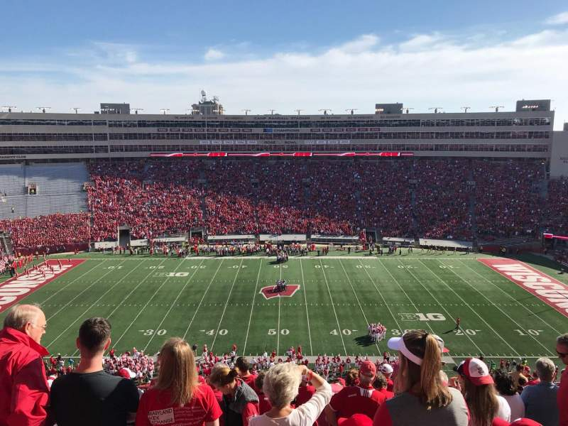 Camp Randall Stadium, section: FF, row: 19, seat: 19