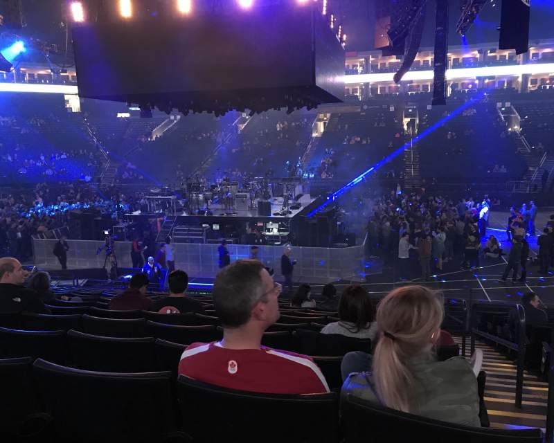 Oracle Arena, section: 128, row: 13, seat: 1