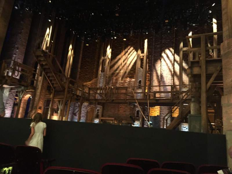 Seating view for CIBC Theatre Section Orchestra R Row F Seat 6