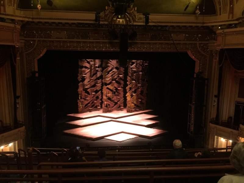 Hippodrome Theatre, section: Ctr Mid Balcony, row: F, seat: 306