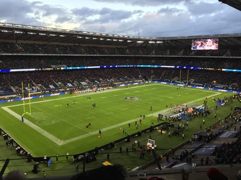 Twickenham Stadium, section: U13, row: C, seat: 361