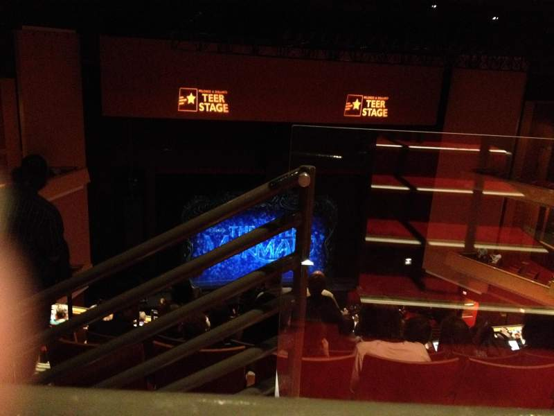 Seating view for Durham Performing Arts Center Section 8 Row K Seat 301