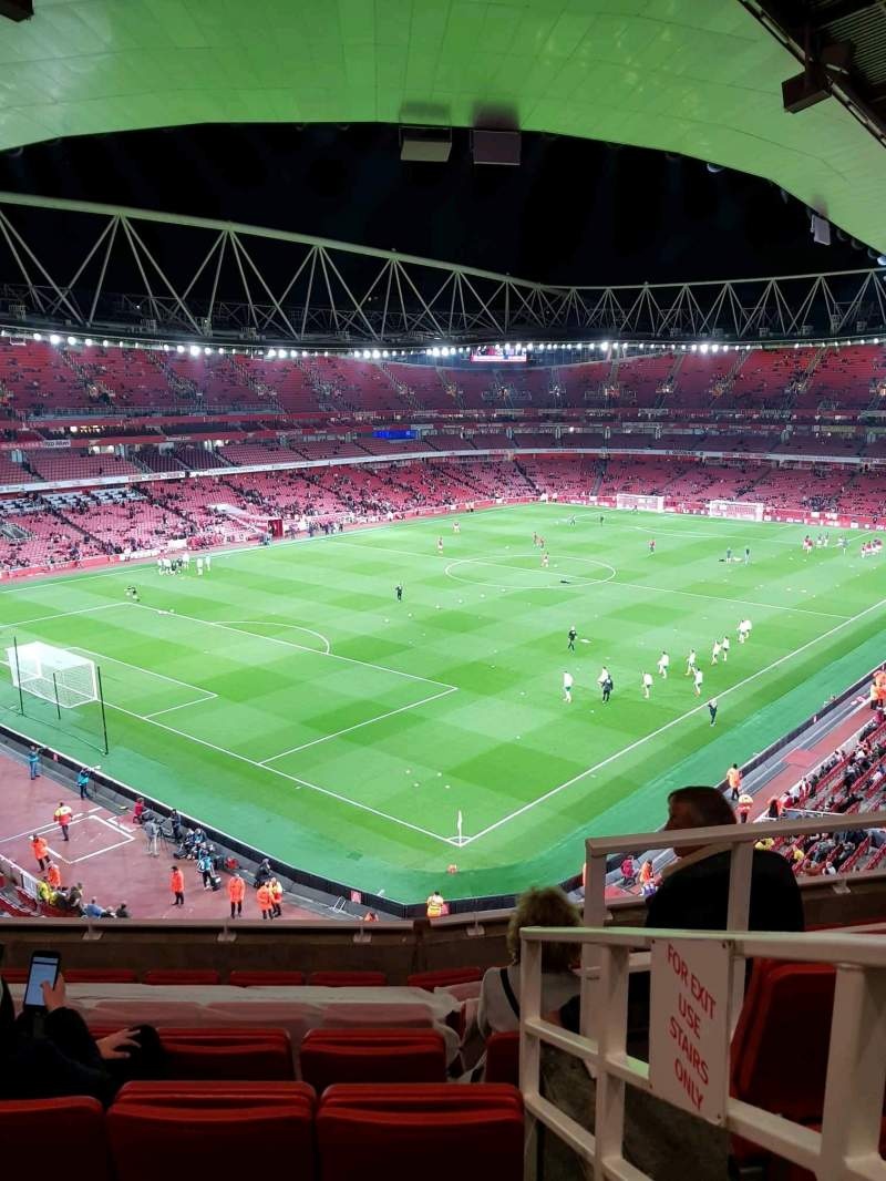 Seating view for Emirates Stadium Section 119 Row 8 Seat 779