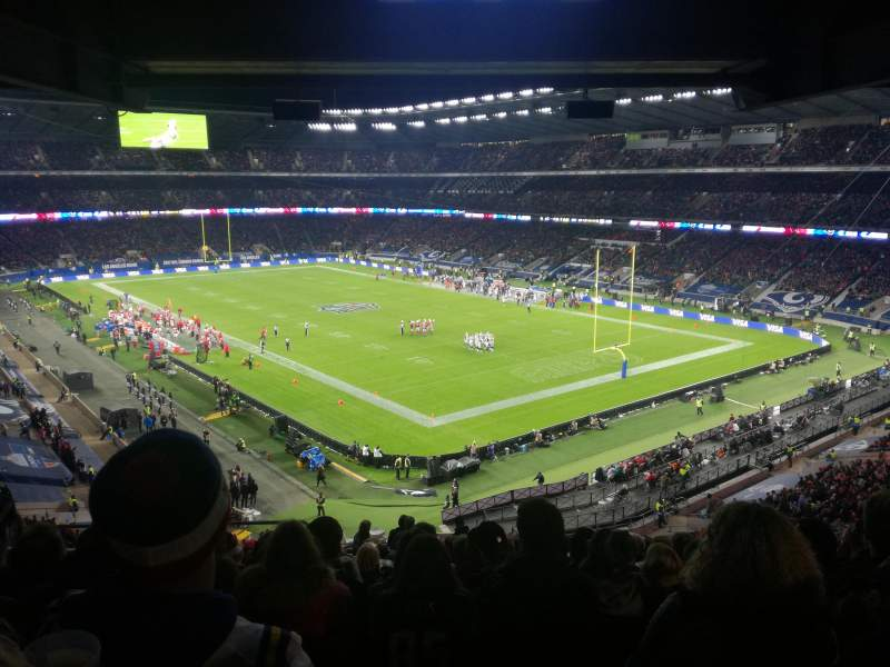 Seating view for Twickenham Stadium Section M25 Row 72 Seat 8