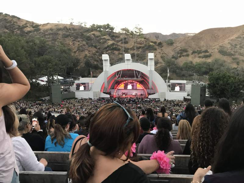 Seating view for Hollywood Bowl Section M2 Row 20 Seat 117