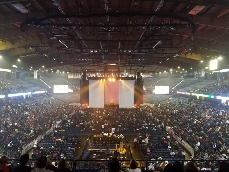 Allstate Arena, section: 214, row: H, seat: 35