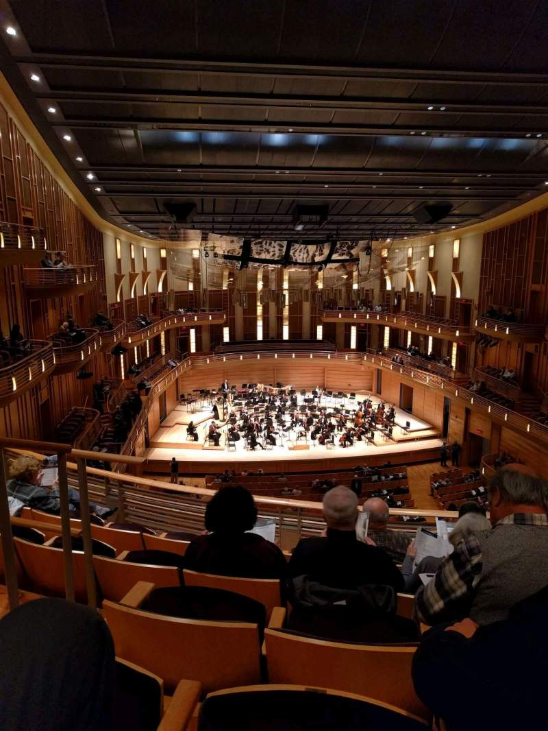 Seating view for The Music Center at Strathmore Section Grand Tier Center Row E Seat 125