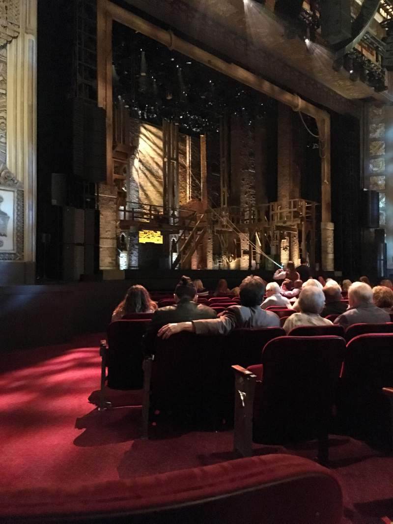 Hollywood Pantages Theatre, section: Orchestra L, row: M, seat: 3