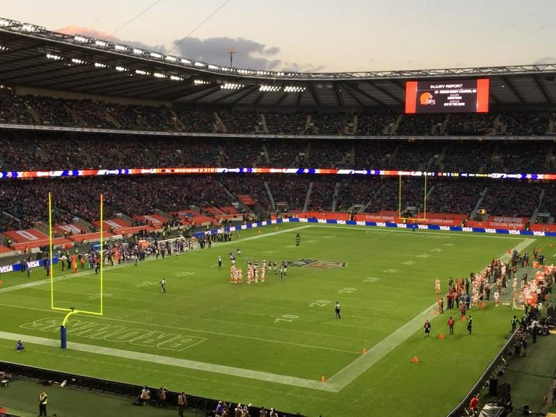 Seating view for Twickenham Stadium Section M16 Row 64 Seat 30