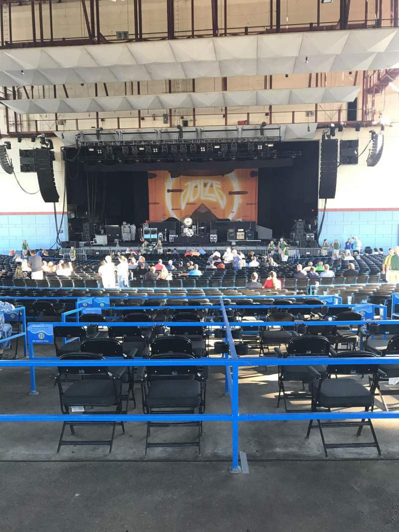 Seating view for Riverbend Music Center Section 800 Row AA Seat 510