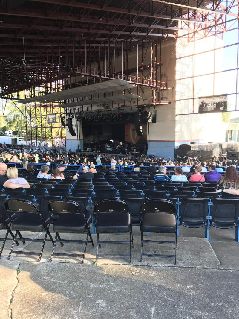 Seating view for Riverbend Music Center Section 900 Row AA Seat 970
