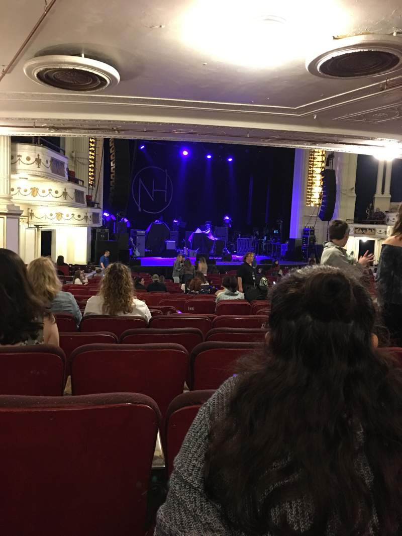 Orpheum Theatre (Boston), section: Orchestra left, row: P, seat: 11