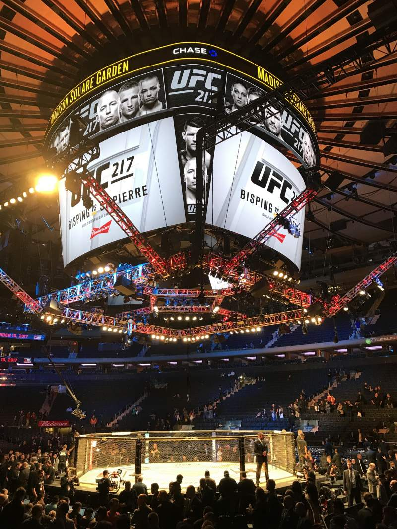 Madison Square Garden: Ufc Photos At Madison Square Garden