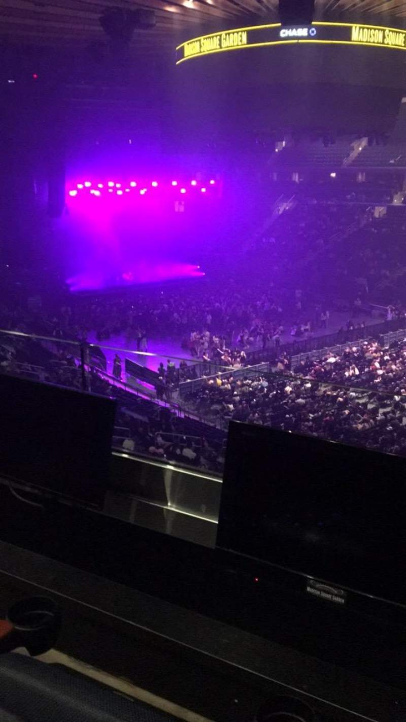 Seating view for Madison Square Garden Section 227 Row 2 Seat 13