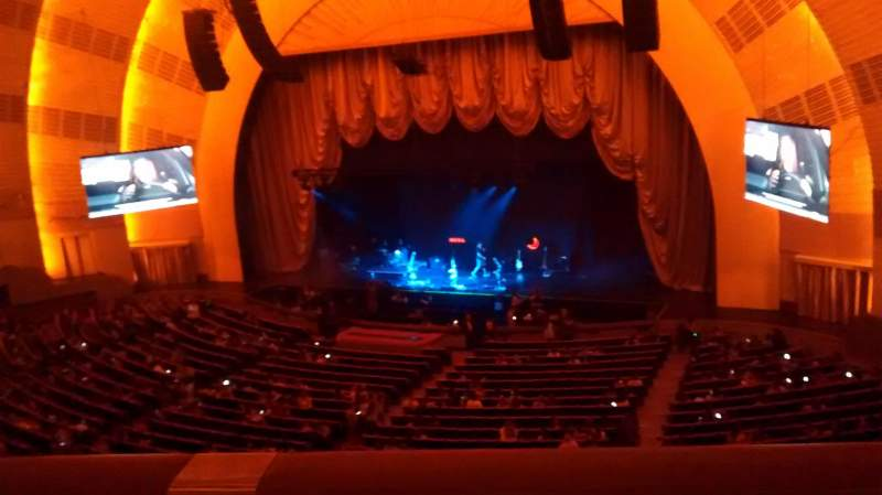 Seating view for Radio City Music Hall Section 2nd Mezzanine 2 Row A Seat 203