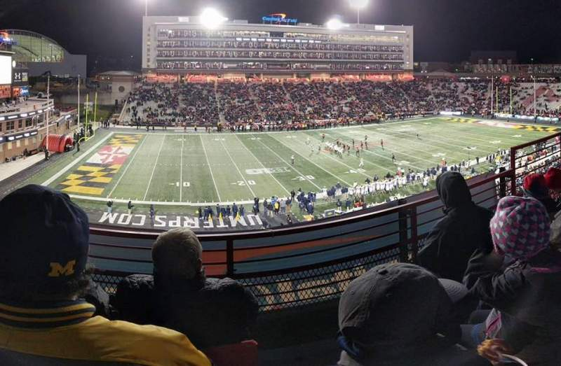 Maryland Stadium, section: 203, row: c, seat: 19