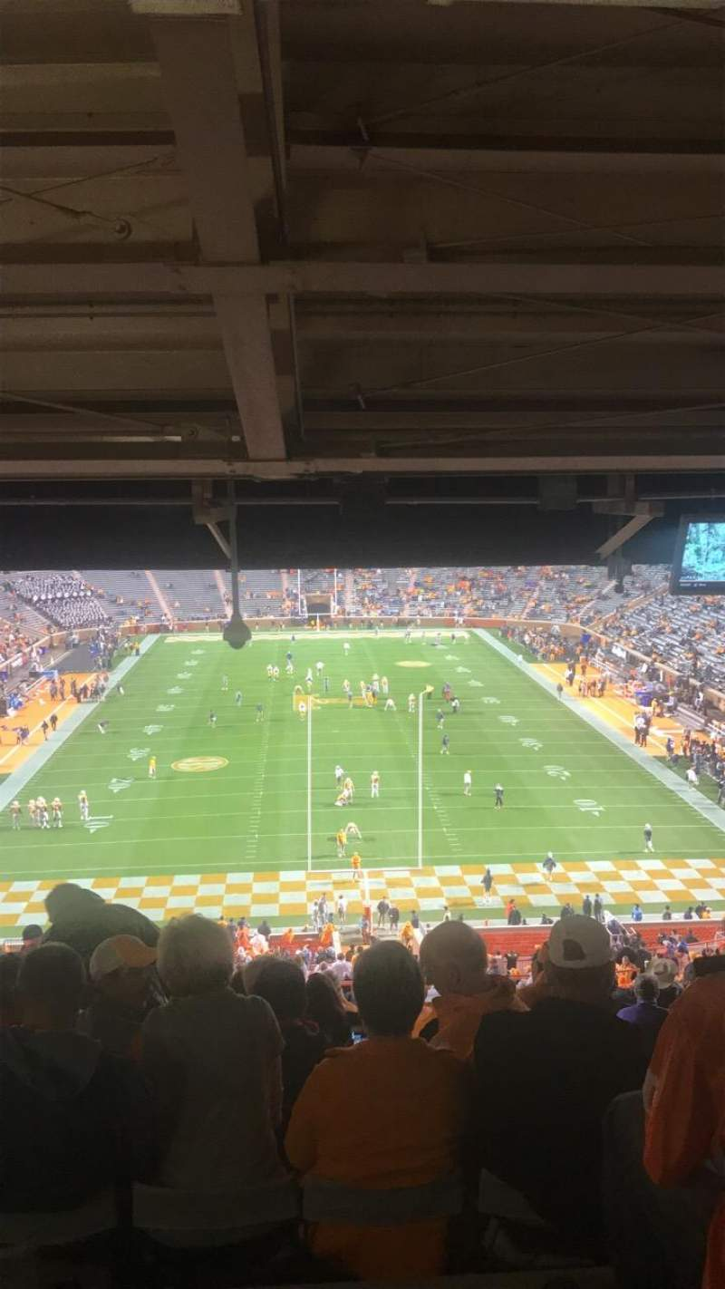 Neyland Stadium, section: Y8, row: 57, seat: 19