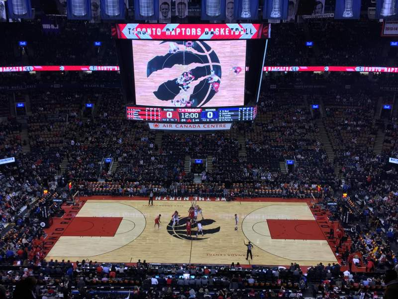 Scotiabank Arena, section: 321, row: 12, seat: 9