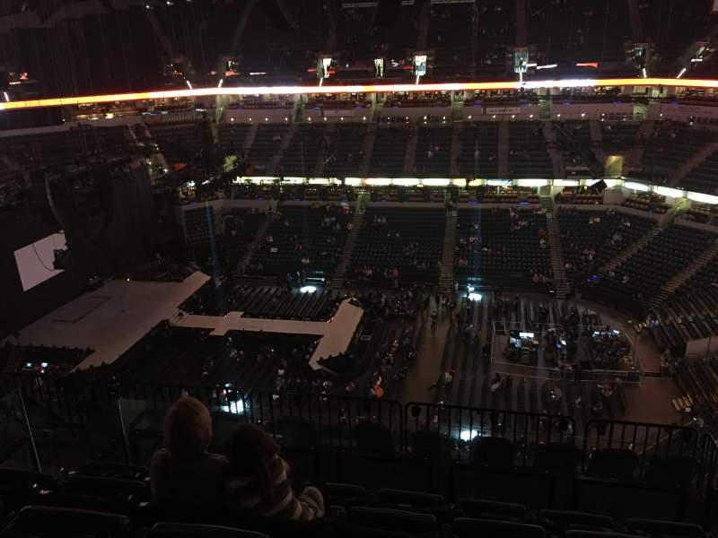 Bankers Life Fieldhouse, section: 224, row: 9, seat: 8