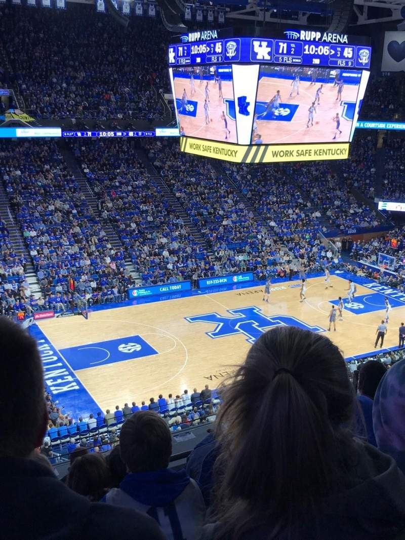 Rupp Arena, section: 232, row: F, seat: 27