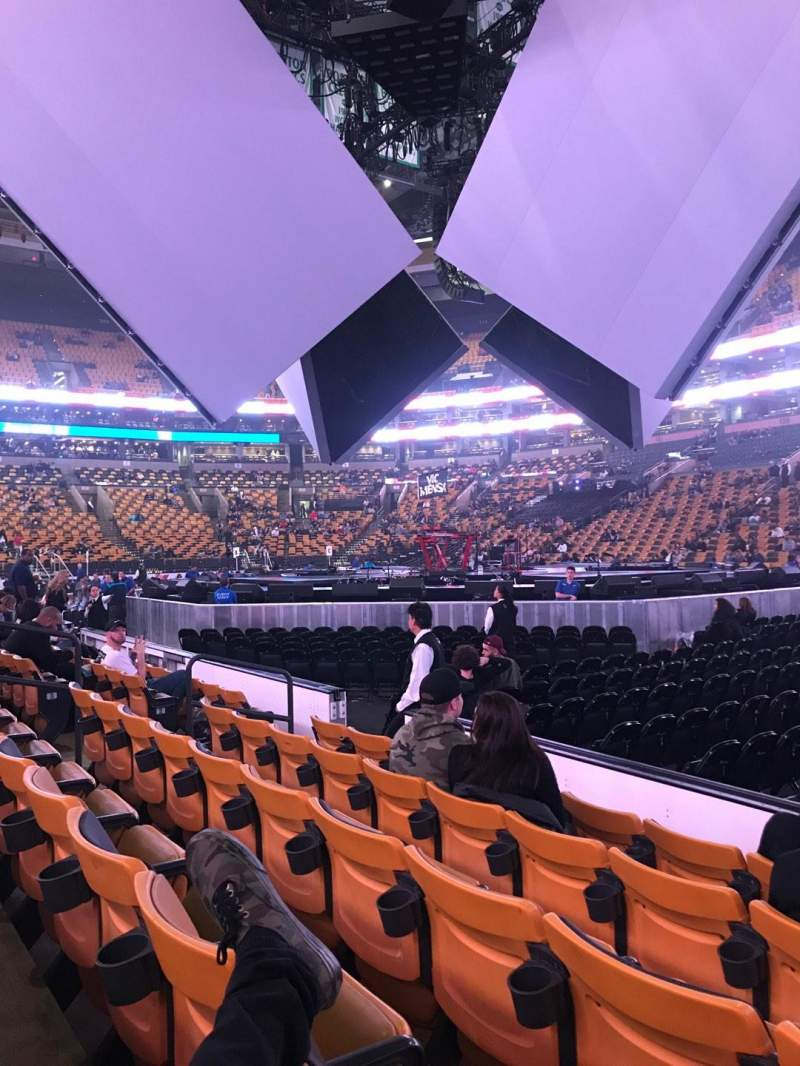 TD Garden, section: Loge 21, row: 5, seat: 2-3