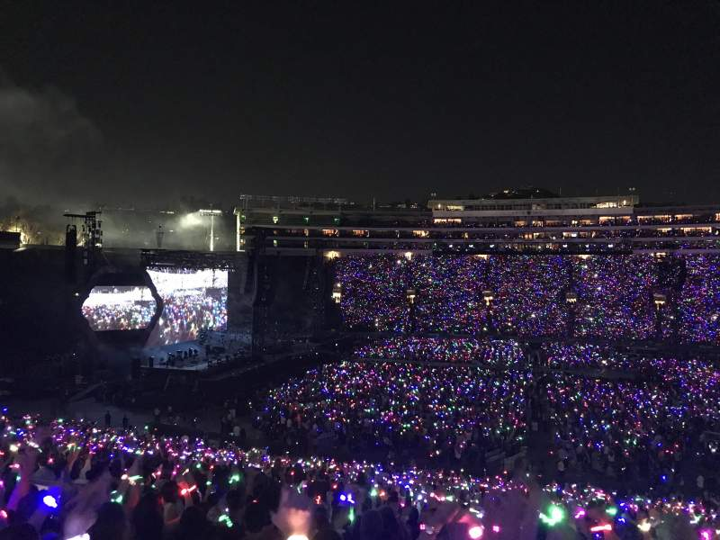 Rose Bowl, section: 4, row: 50, seat: 117