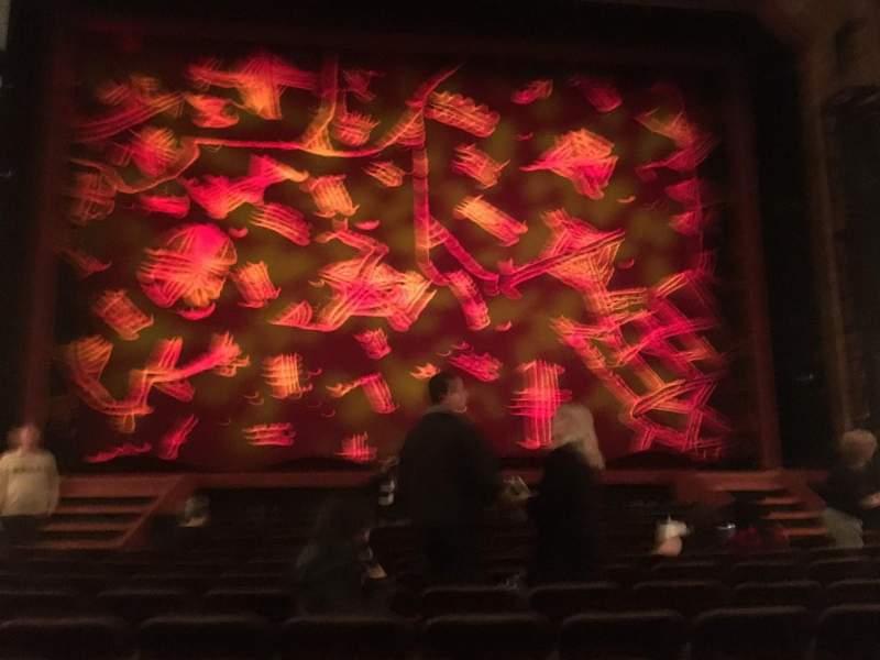 Hippodrome Theatre, section: CORC, row: L, seat: 106