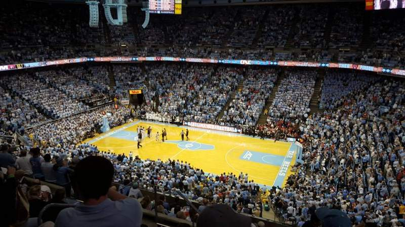 Seating view for Dean Dome Section 228 Row J Seat 9
