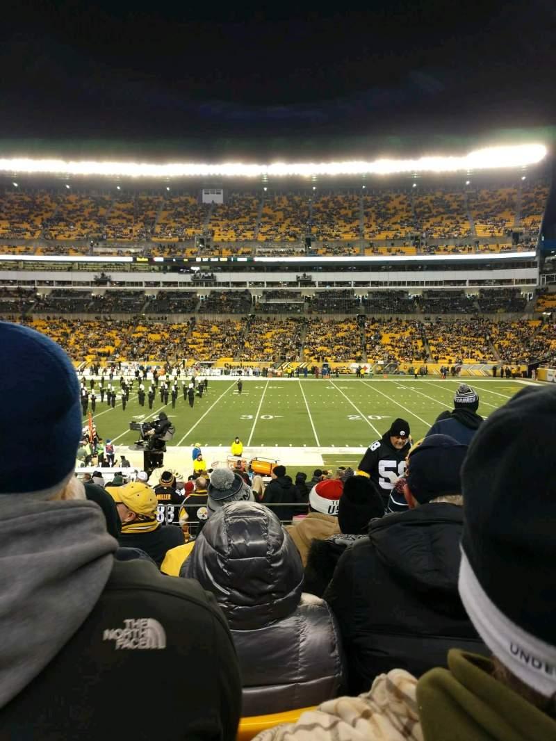 Heinz Field, section: 112, row: T, seat: 8