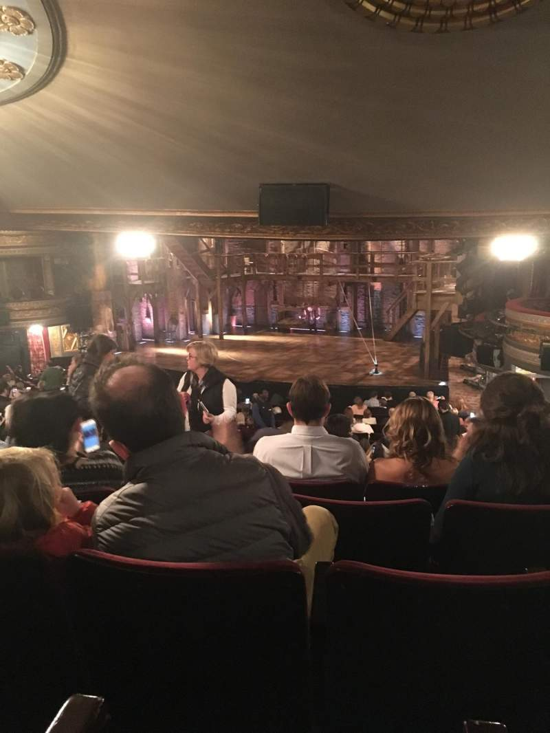 Seating view for Richard Rodgers Theatre Section Orchestra R Row V Seat 26