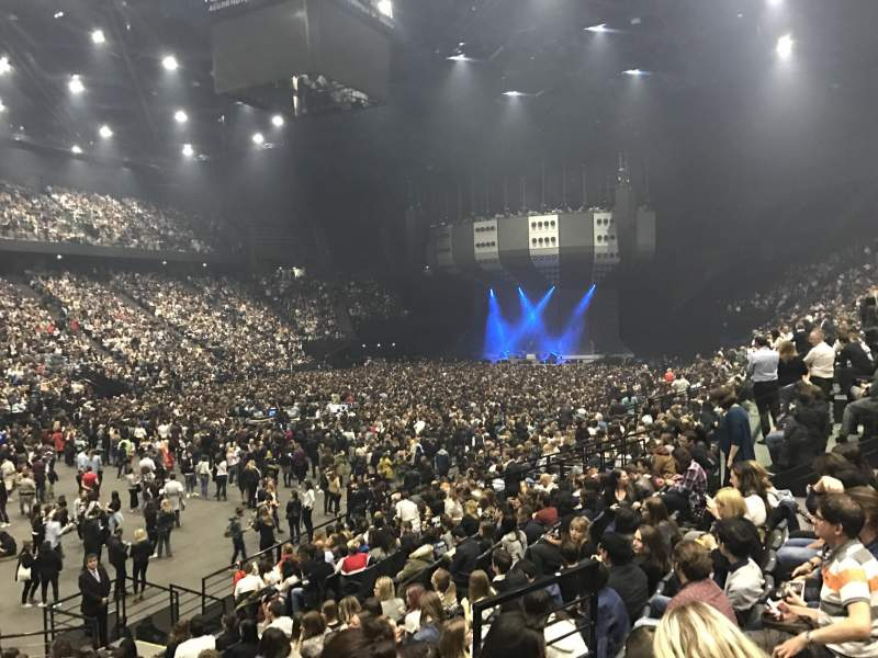 AccorHotels Arena, section: C, row: 13, seat: 14
