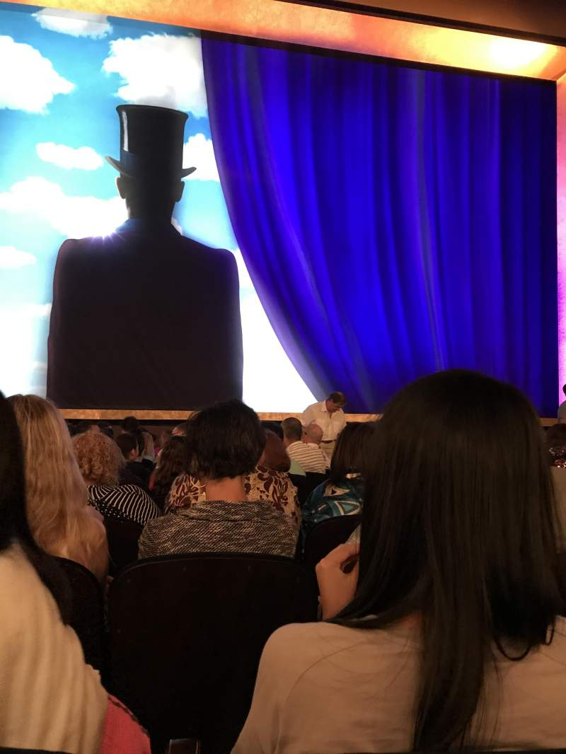 Lunt-Fontanne Theatre, section: Orchestra, row: M, seat: 102