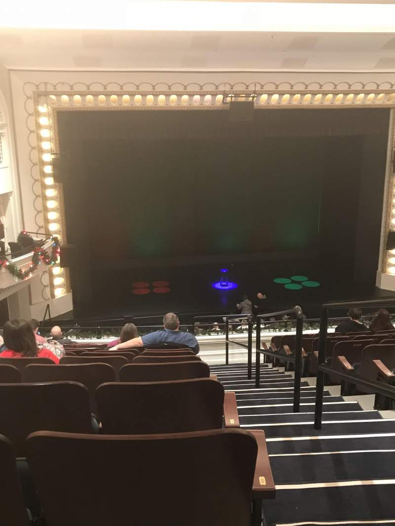 Bloomington Center for the Performing Arts, section: Balcony L, row: MM, seat: 1