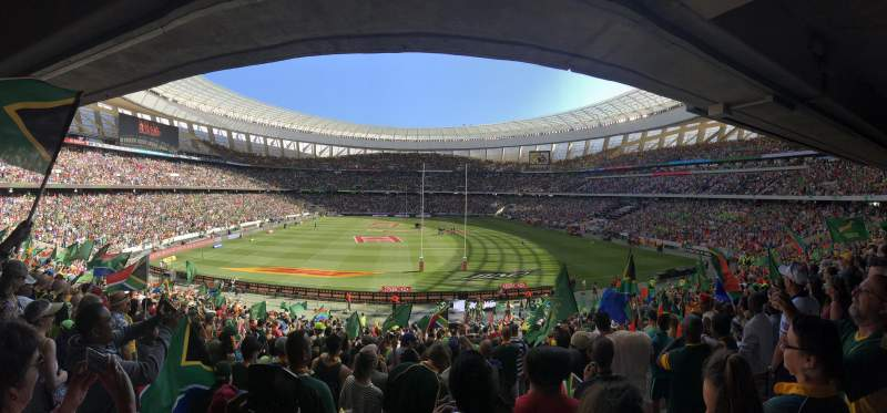 Seating view for Cape Town Stadium Section 109 Row 29 Seat 15