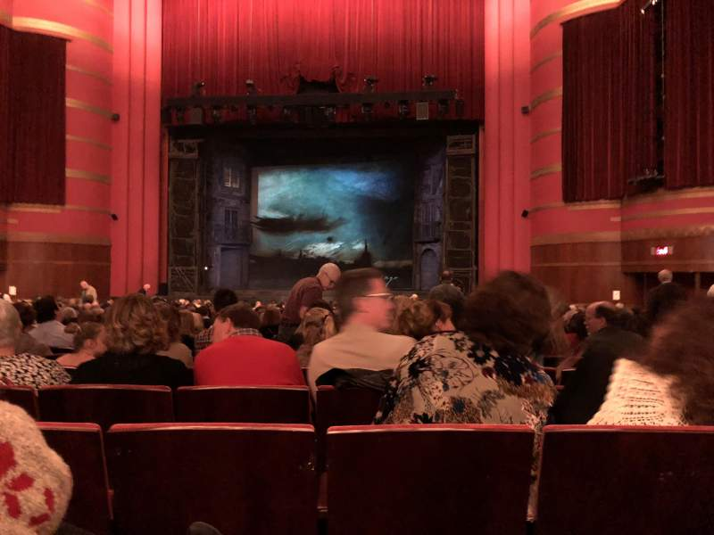 Seating view for Kansas City Music Hall Section Orchestra C Row Z Seat 6