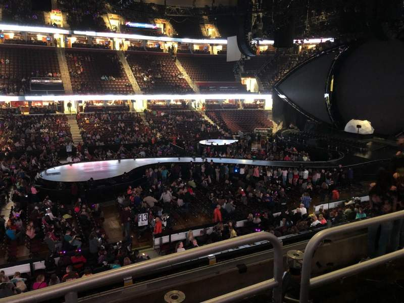 Seating view for Quicken Loans Arena Section C108 Row 18 Seat 11
