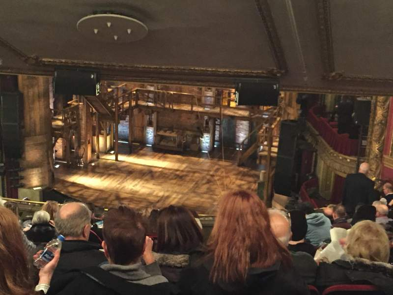 Seating view for CIBC Theatre Section Mezzanine R Row P Seat 8, 10