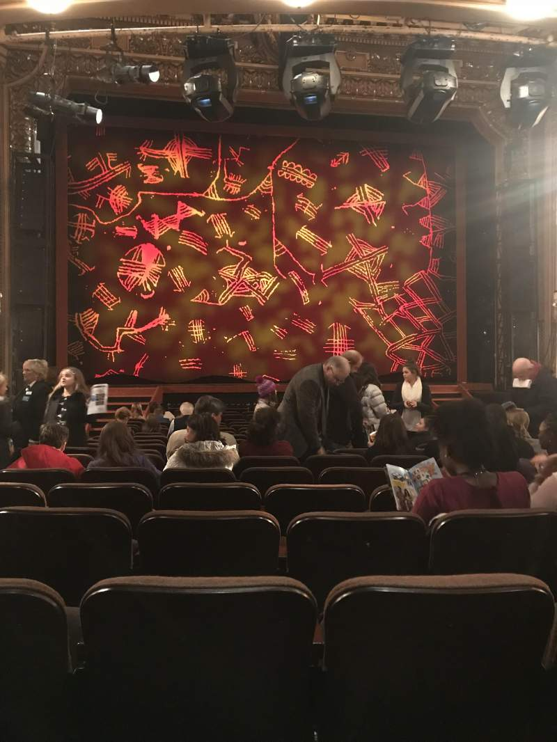 Hippodrome Theatre, section: Orchestra Center, row: S, seat: 103 and 10