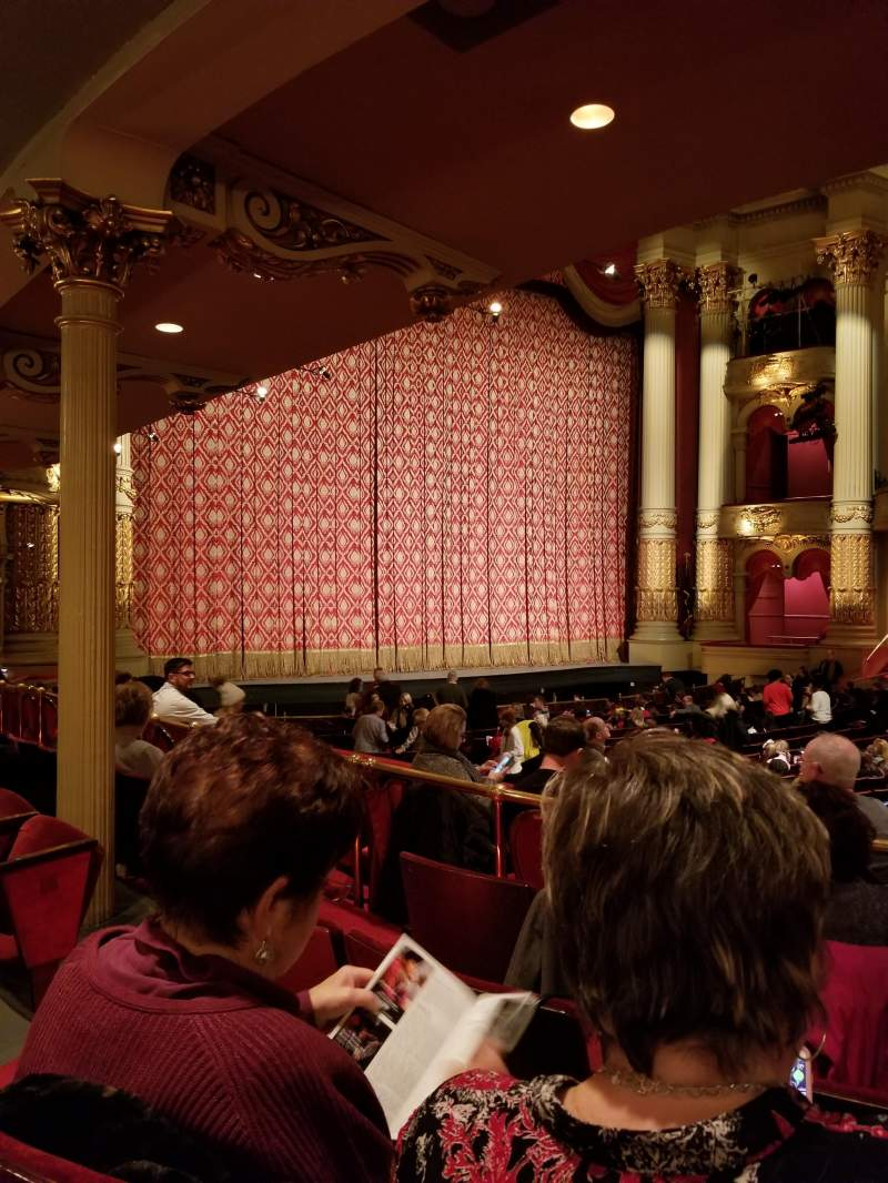 Academy of Music, section: Parquet Circle G, row: W
