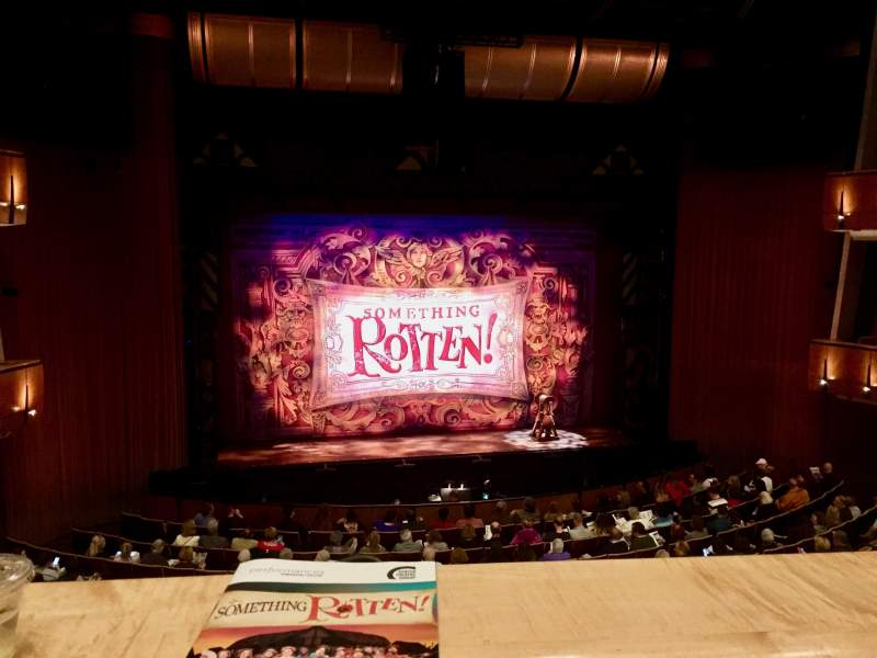 Ahmanson Theatre, section Mezzanine, row A, seat 31 ...