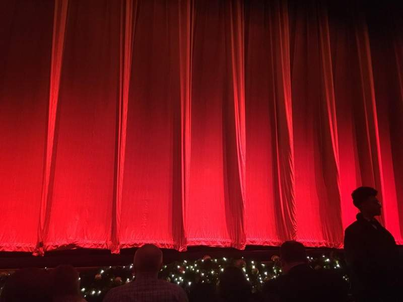 Seating view for Radio City Music Hall Section Orchestra 5 Row DD Seat 503, 504