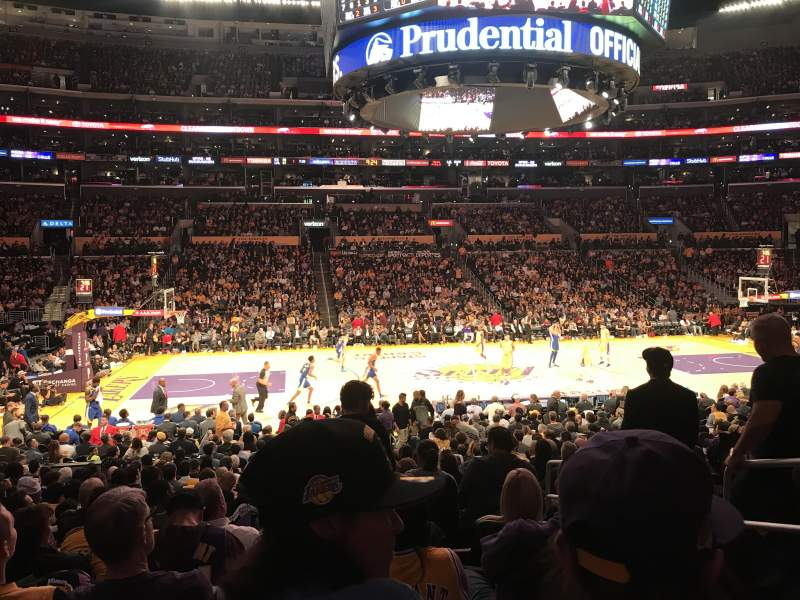 Seating view for Staples Center