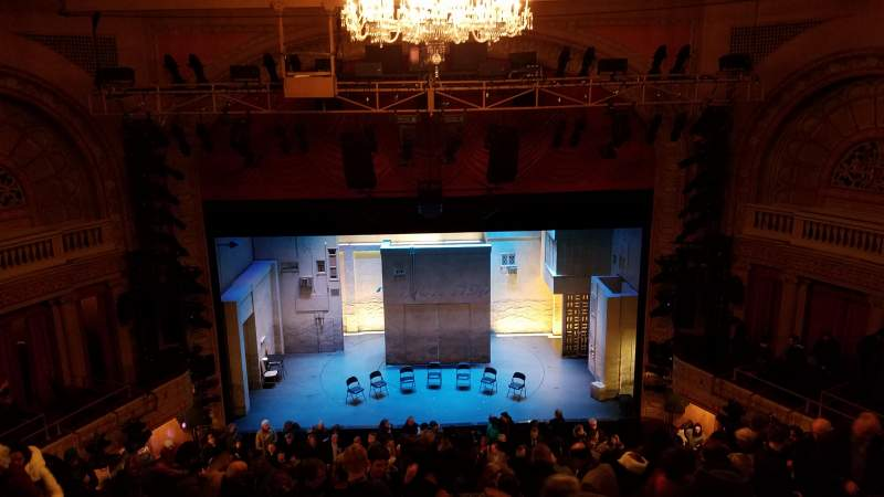 Seating view for Ethel Barrymore Theatre Section Rear Mezzanine C Row D Seat 107